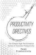 Productivity Directives PDF