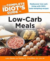 The Complete Idiot s Guide to Low Carb Meals  2e PDF