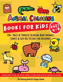 Animal Coloring Books For Kids Ages 4 8