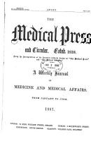 Medical Press and Circular PDF