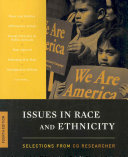 Issues in Race and Ethnicity