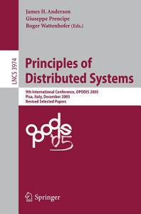 Principles of Distributed Systems PDF