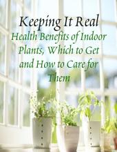 Keeping It Real - Health Benefits of Indoor Plants, Which to Get and How to Care for Them