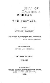 Zohrab, the Hostage: Volume 3