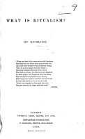 What is Ritualism  By Excelsior PDF