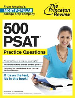 500 PSAT Practice Questions Book