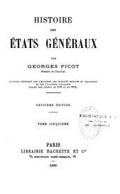 Histoire des États généraux: Volume2