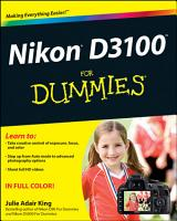 Nikon D3100 For Dummies PDF