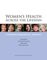 Women s Health Across the Lifespan PDF