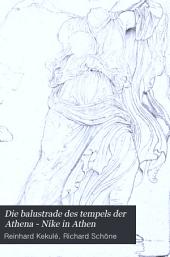Die Balustrade des Tempels der Athena-Nike in Athen