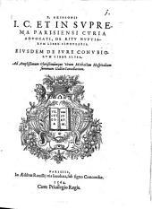 De ritu nuptiarum liber singularis: eiusdem de iure conubiorum liber alter