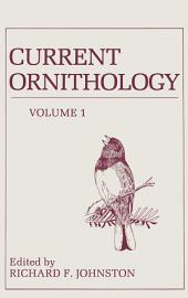 Current Ornithology: Volume 351