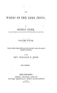 The Words of the Lord Jesus PDF