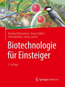 Biotechnologie f  r Einsteiger PDF