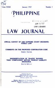 Philippine Law Journal PDF