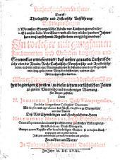 Luthertum vor Luthero