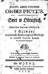 Joann. Amos Comenii Orbis Pictus