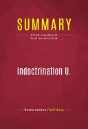 Summary: Indoctrination U.