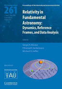 Relativity in Fundamental Astronomy (IAU S261)