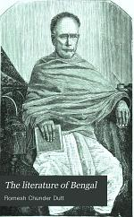 The Literature of Bengal