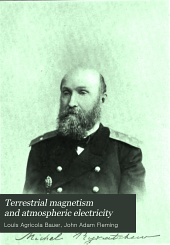Terrestrial Magnetism and Atmospheric Electricity: Volume 13