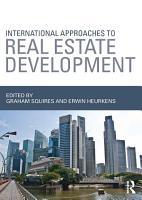 International Approaches to Real Estate Development PDF