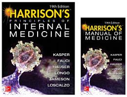 Harrison s Principles of Internal Medicine 19th Edition and Harrison s Manual of Medicine 19th Edition  EBook VAL PAK PDF