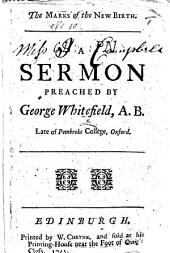 The Marks of the New Birth. A Sermon [on Acts Xix. 5].