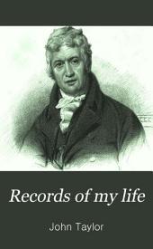 Records of my life: Volume 1