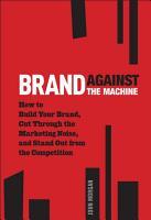 Brand Against the Machine PDF
