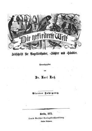 Gefiederte Welt0 PDF