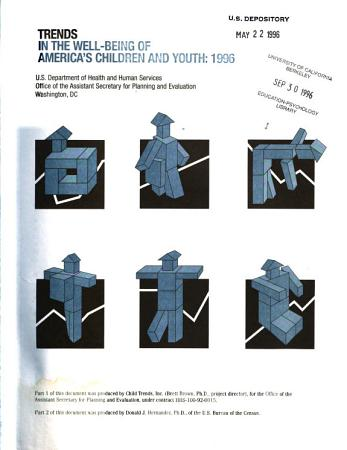 Trends in the Well being of America s Children and Youth PDF