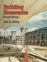 Building Economics PDF