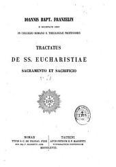 Tractatus de ss. eucharistiae sacramento et sacrificio