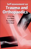 Self  Assessment on Trauma and Orthopaedics PDF