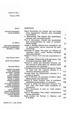Journal of International Economics PDF