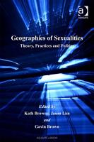Geographies of Sexualities PDF