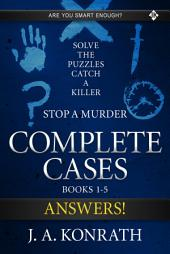 Stop A Murder - Answer Book