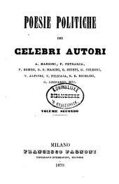 Poesie politiche dei celebri autori: Volume 2
