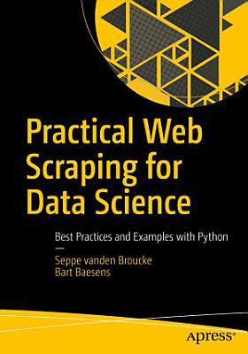 Practical Web Scraping for Data Science PDF