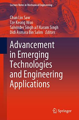 Advancement in Emerging Technologies and Engineering Applications PDF