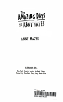 The Amazing Days of Abby Hayes PDF