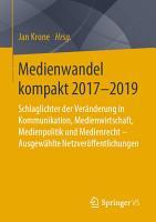Medienwandel kompakt 2017 2019 PDF