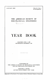 Journal of the American Society of Mechanical Engineers: Volume 31