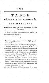 Voyage en Portugal. - Paris, F. Buisson 1798