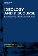 Ideology and Discourse