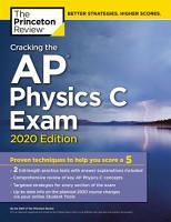Cracking the AP Physics C Exam  2020 Edition PDF