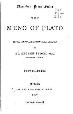 The Meno of Plato