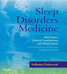 Sleep Disorders Medicine E Book Book PDF