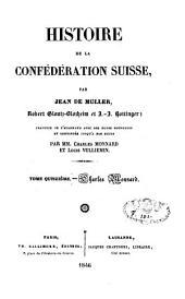 Histoire de la Confédération suisse: Volume15